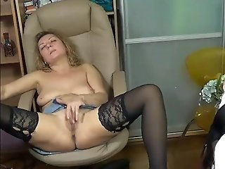 Caught My Wife Rubbing Her Pussy Live