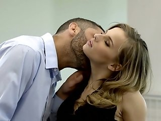 Jillian Janson is naughty secretary whose wet pussy is in need of cunnilingus
