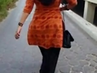 Hot Pakistani ass walking in the park