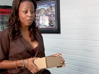 Black Cutie Michelle Malone Gets Drilled
