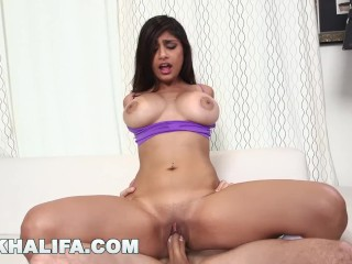 MIA KHALIFA - Getting extra dick from J-Mac behind the scenes! (mk13784)