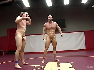 Mitch Vaughn and his gay partner want to fuck after the fight match