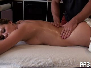 Sensual massage with drilling